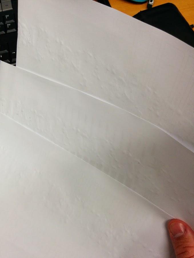 Brother MFC-9140CDN Verknittertes Papier
