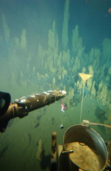 Geocache in -2300 Metern tiefe (Bild: geocaching.org)