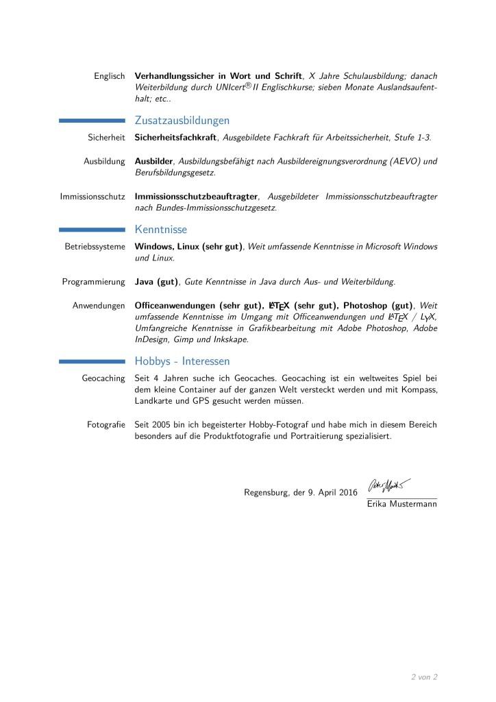 lebenslauf_de_vorlage page 001 lebenslauf_de_vorlage page 002 - Lebenslauf Englisch Muster Kostenlos
